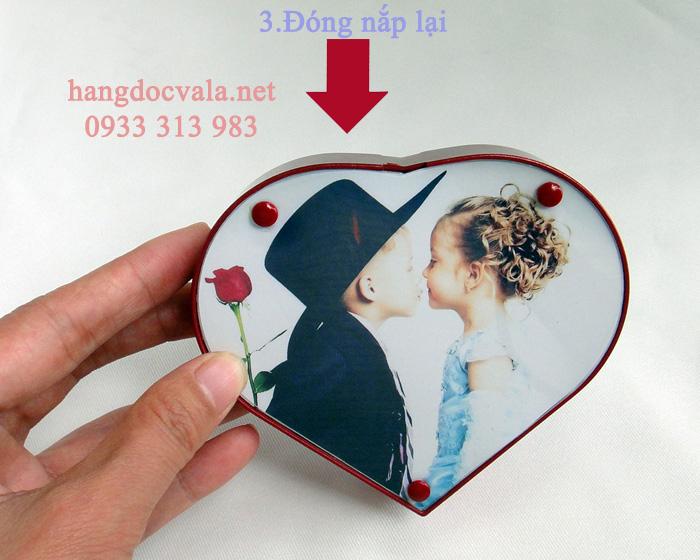Khung hình lưu giữ hình ảnh hình trái tim