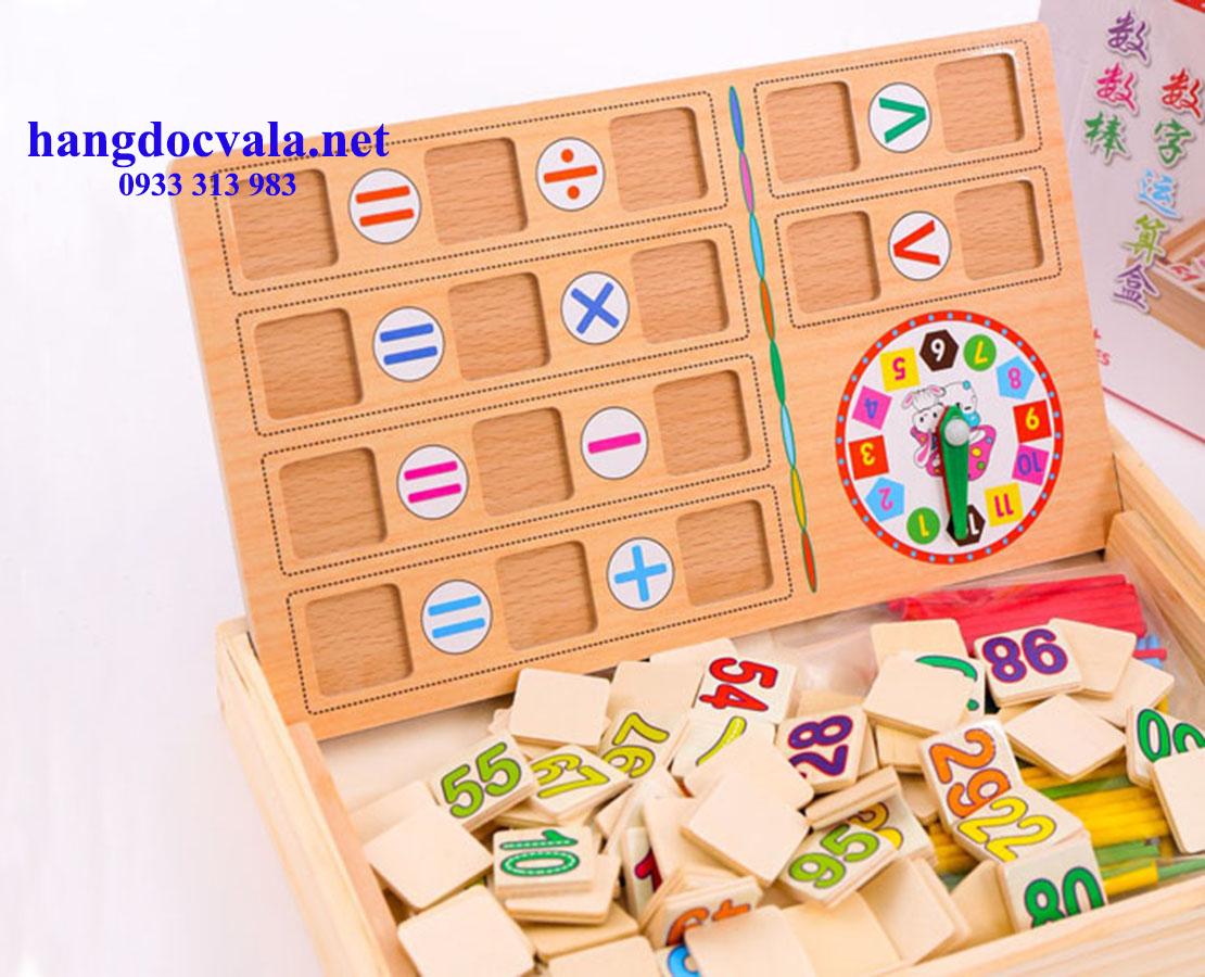Bảng gỗ thông minh giúp bé học tập