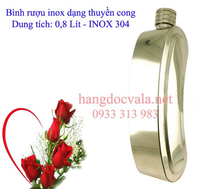 Binh inox dung ruou dp