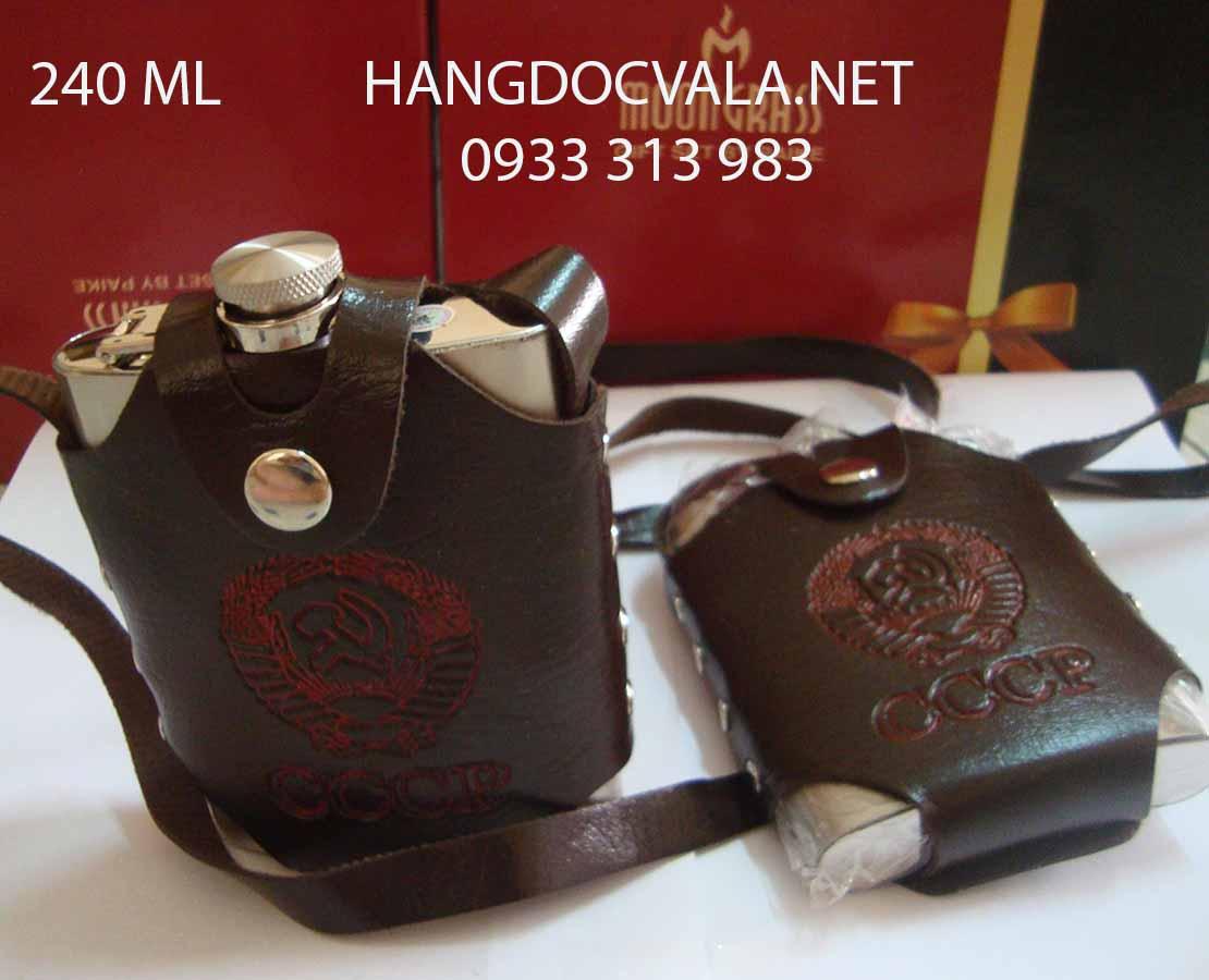 Bình đựng rượu inox mini 304