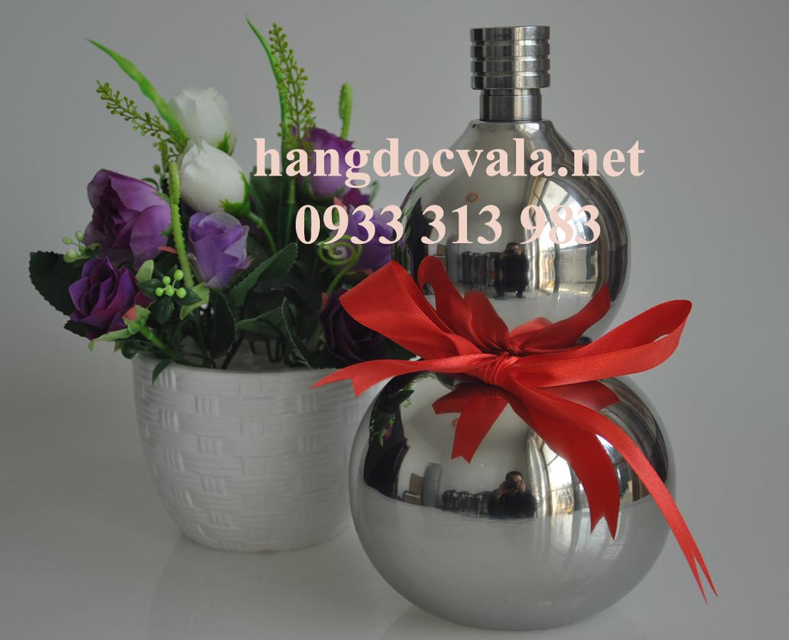 Bình đựng rượu hồ lô inox 1 lít