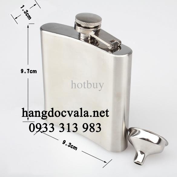 bình inox đựng rượu cỡ nhỏ