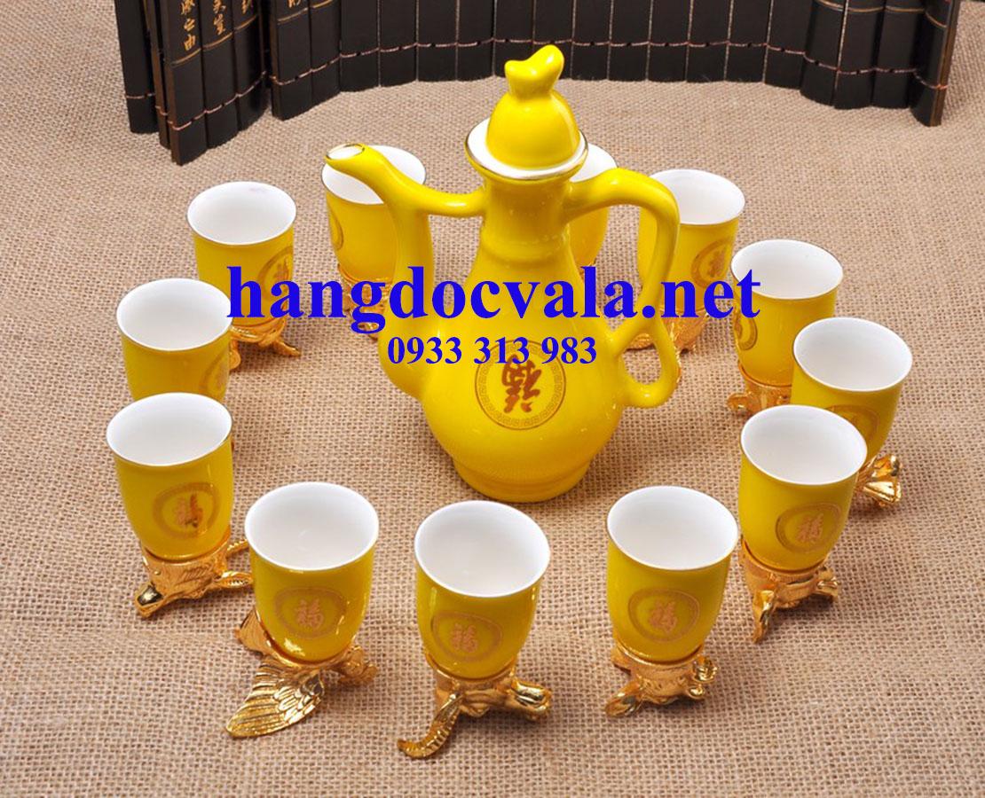 Bộ ấm chén uống trà 12 con giáp