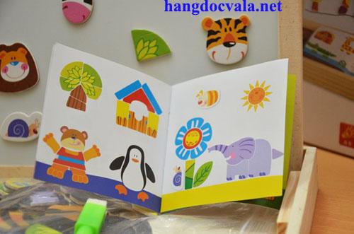 Đồ chơi ghép tranh bằng gỗ cho trẻ