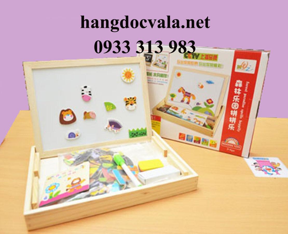 Bảng ghép hình bằng gỗ cho trẻ em