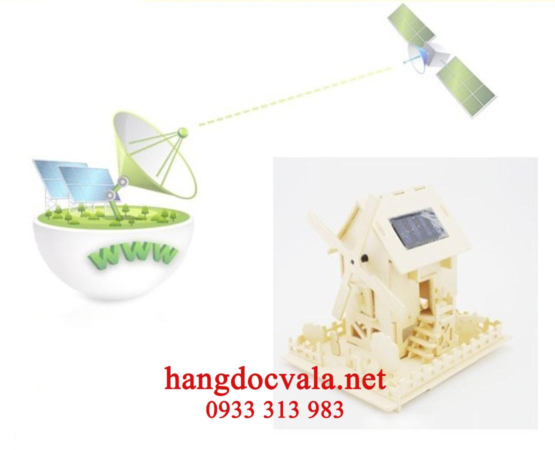 Trò chơi lắp ráp cối xay gió năng lượng mặt trời