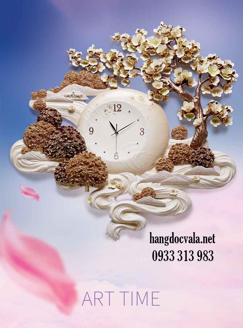 Đồng hồ trang trí nội thất - quà tặng tân gia cao cấp