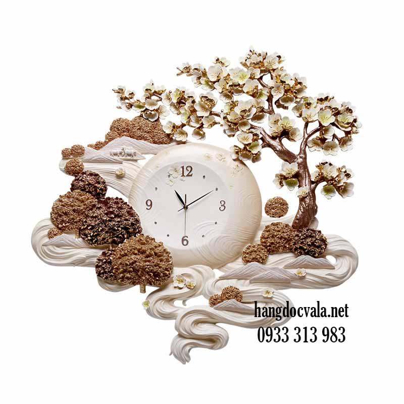 Đồng hồ trang trí phòng khách-quà tân gia cho sếp