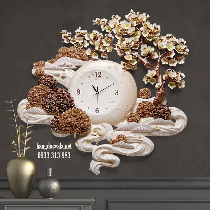 Đồng hồ trang trí phòng khách - quà  tân gia cho sếp