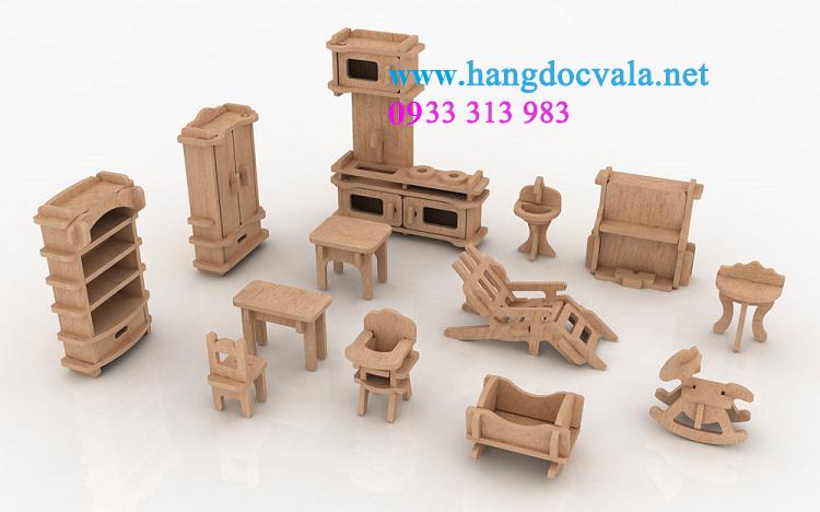 Mô hình trò chơi nội thất gia đình