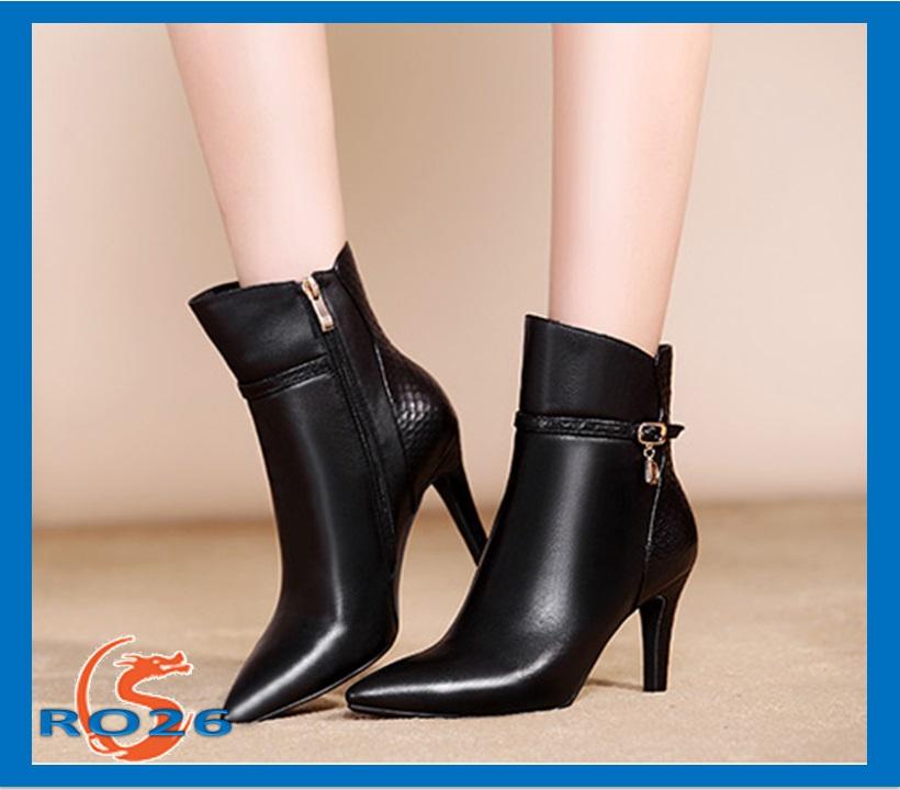 Giày boot nữ cổ cao đẹp  giá rẻ