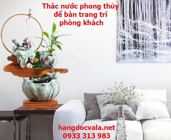 Thac nuoc phong thuy bang gom