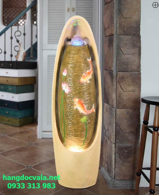 Thác nước phong thủy trong nhà