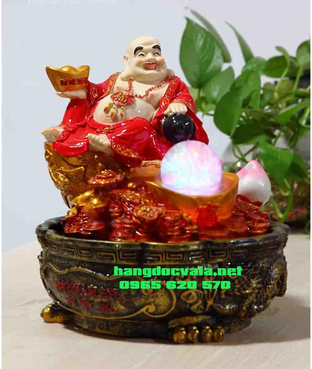 Hòn non bộ mini-Phật Di Lặc từ bi hỉ xã