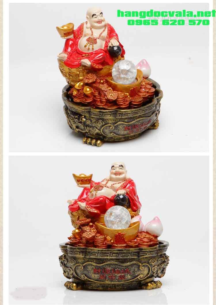 Hòn non bộ mini để bàn-Phật Di Lặc từ bi hỉ xã