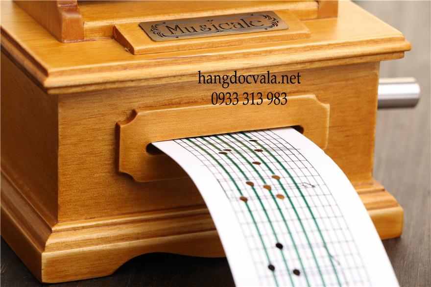 Bán hộp nhạc bằng gỗ giá rẻ