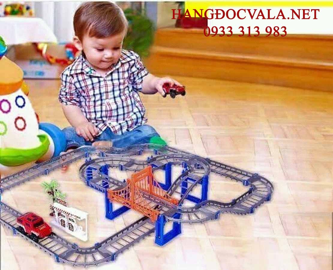Bộ đồ chơi lắp ghép đường giao thông
