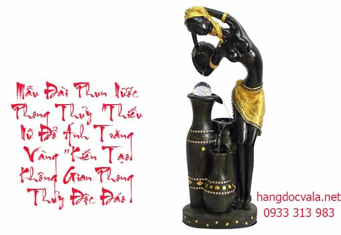 Dai phun nuoc phong thuy mini