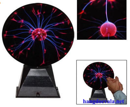 Qua cau Plasma cam biến âm thanh