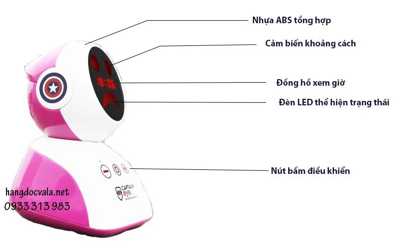 robot thiết bị chống gù lưng cận thị