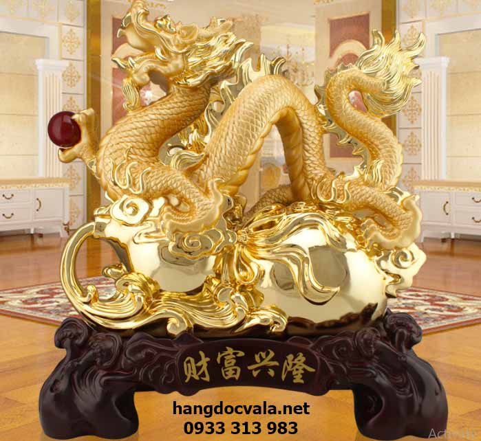 rồng vàng phong thủy
