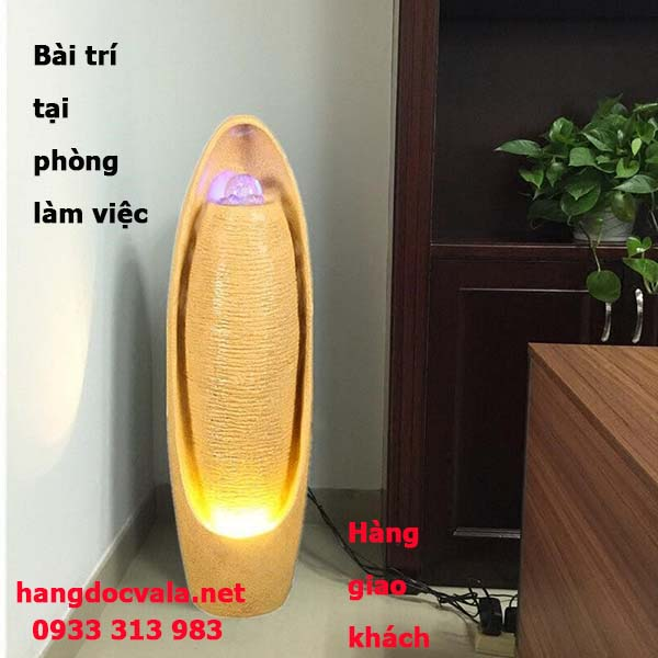 Thac nuoc phong thuy co lon