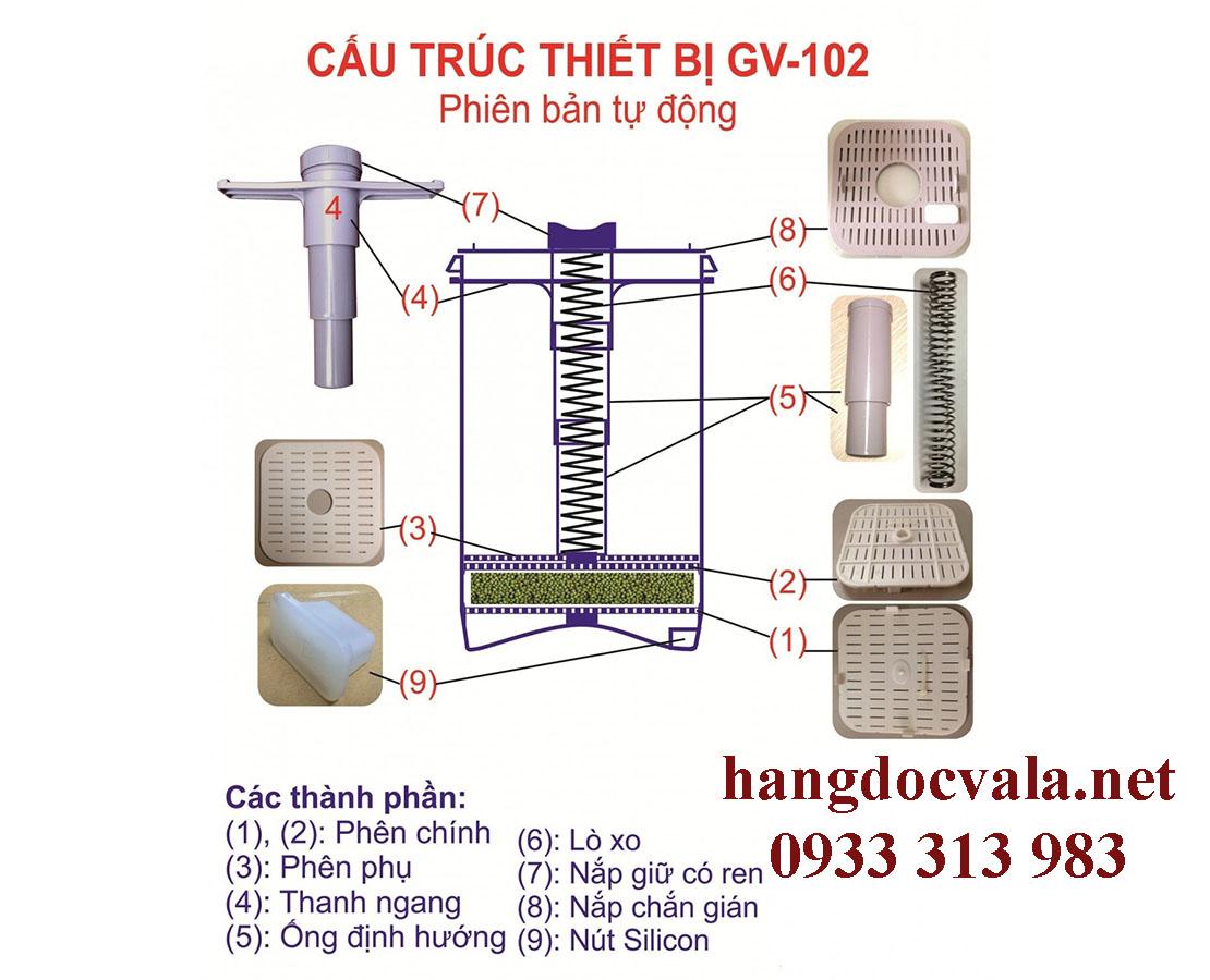 Máy tự làm giá đậu Việt Nam
