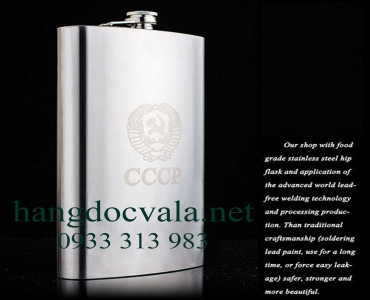 Bình rượu inox Hip Flask CCCP maximum size 64 oz ( 1,9L)