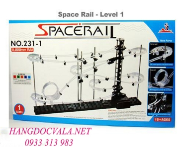 Vòng đua vũ trụ level 1 - Space Rail Level 1